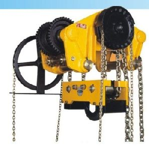 Triple Spur Gear Chain Pulley