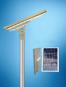 9 Watt All In One Solar Street Light