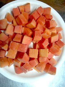 Frozen Papaya Chunks