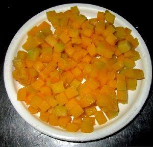 Frozen Pumpkin Dices