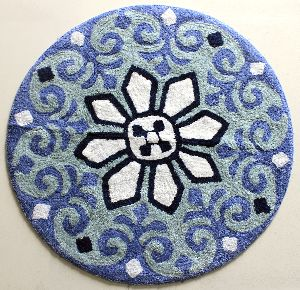 Round Shaped Bath Mat