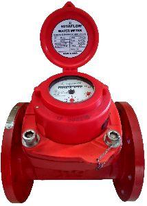 Woltman Water Flow Meter