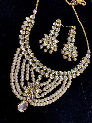 Kundan Necklace Set 04