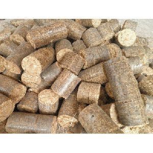 Wood Biomass Briquettes