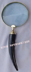 Horn Type Back Magnifying Glass