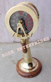 Nautical Vintage Brass Double Side Ship Engine Telegraph