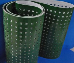 PVC GREEN Vacuum Conveyor Belts