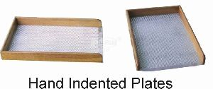 Manual Indented Plates
