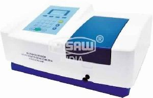 Single Beam Uv- Vis Spectrophotometer