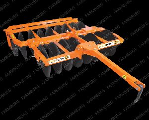 Trailed offset Disc Harrow (With Tyre)