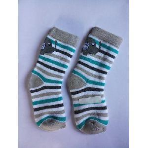 Cotton Striped Kids Socks