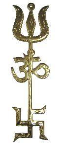 Astadhatu Trishakti Trishul