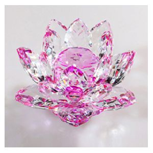Crystal Glass Lotus