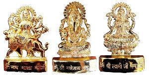 Durga Saraswati Laxmi Idols