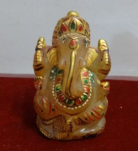 Yellow Quartz Ganesha