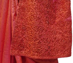 Cut Work Embroidered Sarees