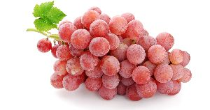 Fresh Pink Grapes