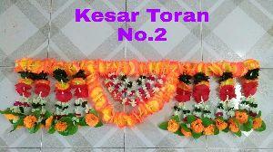Artificial Flowers Toran 06