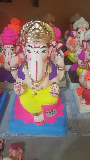 Eco Friendly Ganesh Idols 11