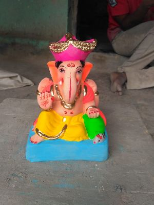 Eco Friendly Ganesh Idols 16