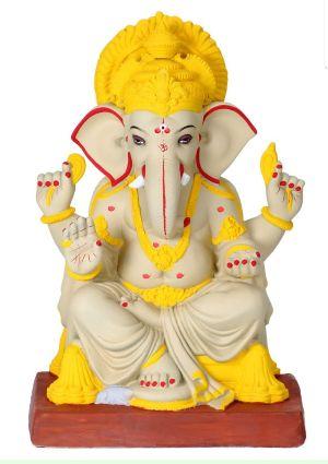 Eco Friendly Ganesh Idols 26