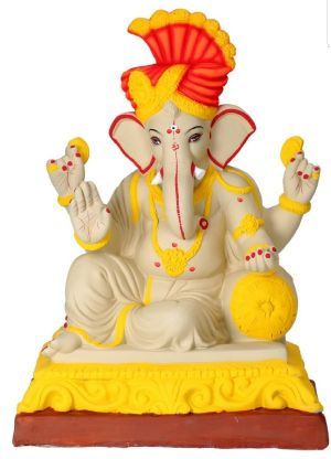 Eco Friendly Ganesh Idols 27