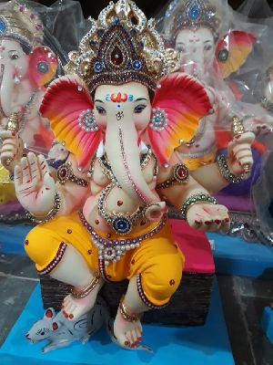 Eco Friendly Ganesh Idols 38