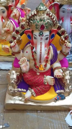Eco Friendly Ganesh Idols 44
