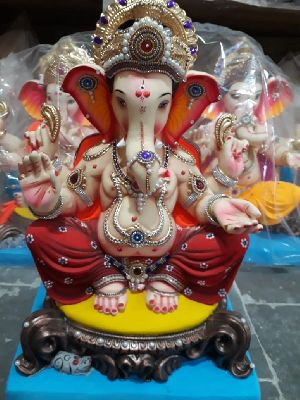 Eco Friendly Ganesh Idols 45