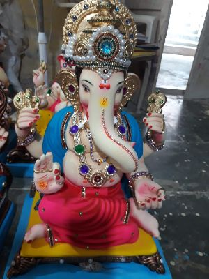 Eco Friendly Ganesh Idols 48