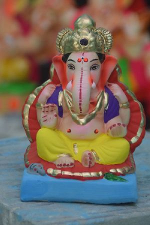 Eco Friendly Ganesh Idols 49