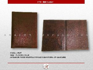 Leather Bill Folder