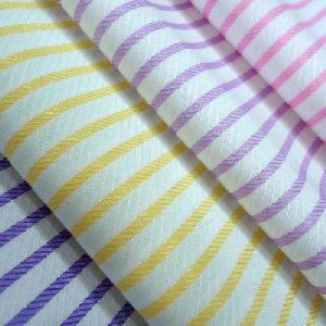 Spun Shirting Fabric