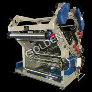 Double Profile Single Face Corrugation Machine