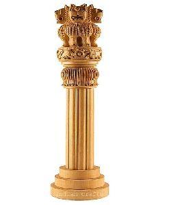 Wooden Ashok Stambh
