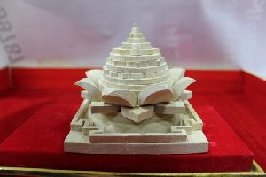 Wooden Lotus Shree Yantra