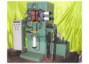 Vertical Metal Gathering Machine