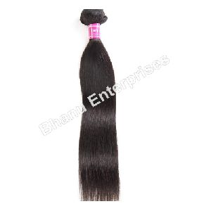 Black Straight Human Hair Extension