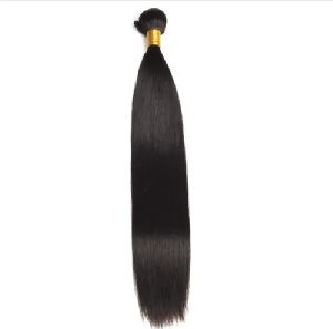 Straight Machine Weft Human Hair