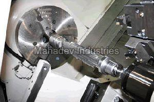 CNC Shaft Job Work