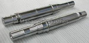 Steel Forged Shaft CNC Job Work