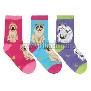 Kids Cartoon Socks 01