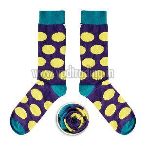Ladies Polka Dot Socks 03