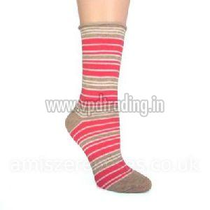 Ladies Striped Socks 04