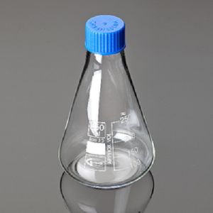 Conical Flask With Screw Cap