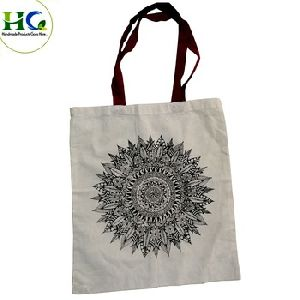 Tote Bag New Design cotton calico tote shopping bag