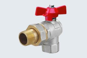ANGLE BRASS BALL VALVE