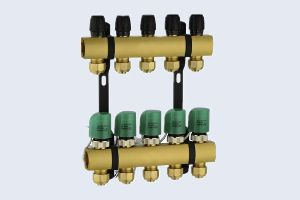 BRASS THERMOSTATIC MANIFOLD