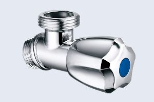 CHROME-PLATED BRASS ANGLE VALVES
