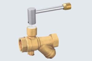 MAGNETIC LOCKABLE BRASS Y STRAINER FILTER VALVE
